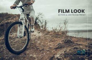 Film Look Effect Action & Lightroom Preset GJYRVUJ 15