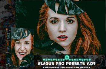PRO Presets - V 09 - Photoshop & Lightroom Z9FK263 12