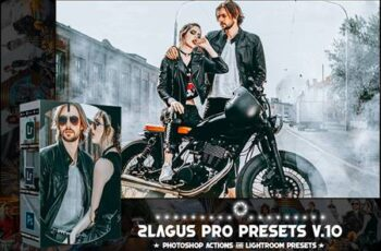 PRO Presets - V 10 - Photoshop & Lightroom NVDR67M 11