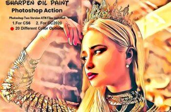 Sharpen Oil Paint Photoshop Action 5947702 9
