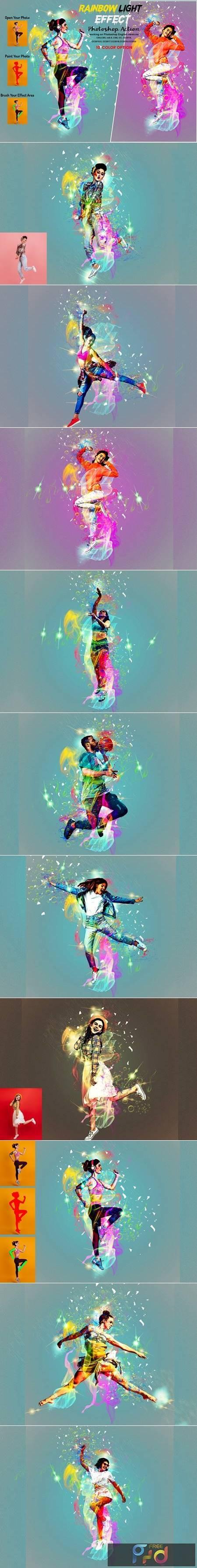 Rainbow Light Effect PS Action 5940257 1