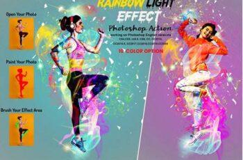 Rainbow Light Effect PS Action 5940257 3