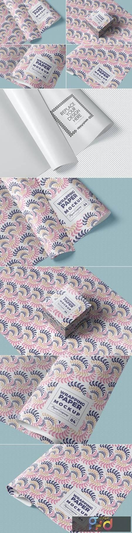 Wrapping Paper Mockups SEUWANG 1
