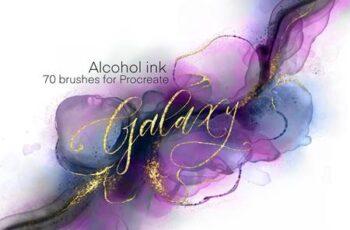 Galaxy Alcohol Ink Brushset 5997008 3