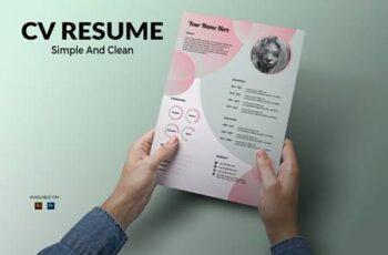 CV Resume Gradient VBHFSB4 3