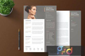 CV Resume & Cover Letter FN7RBZK 2