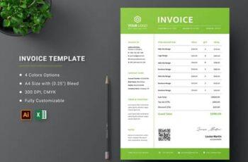 Invoice Excel Template 9HET6WE 11