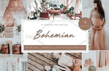 9 x Lightroom Presets, Bohemian 5960700 6