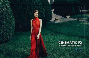 Cinematic Fx Action & Lightroom Preset 2G392C2 4