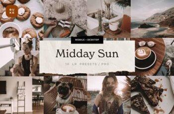 Midday Sun - 10 Lightroom Presets 6046474 7