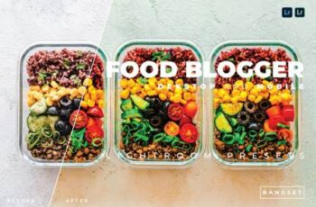 Food Blogger Desktop and Mobile Lightroom Preset KEEU3ME 9