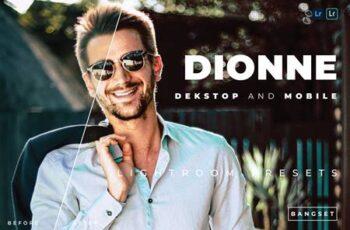 Dionne Desktop and Mobile Lightroom Preset 7FA3EUV 4