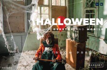 Halloween Desktop and Mobile Lightroom Preset PAWTRUC 7