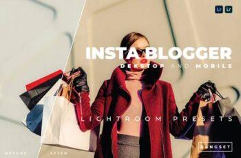 Insta Blogger Desktop and Mobile Lightroom Preset 4RPKW7N 8