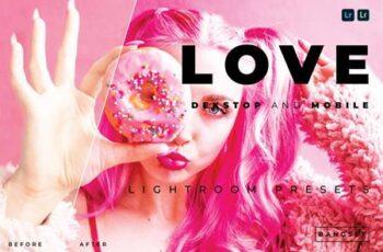 Love Desktop and Mobile Lightroom Preset 97CCUWB 5