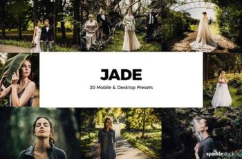 20 Jade Lightroom Presets & LUTs PC57B6Q 5
