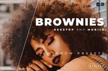 Brownies Desktop and Mobile Lightroom Preset EKUGPU9 3
