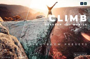 Climb Desktop and Mobile Lightroom Preset LBPQC2M 3