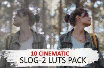 10 Cinematic Slog-2 Luts 5525741 6