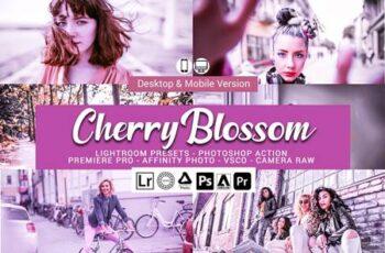 Cherry Blossom Lightroom Presets 5156501 15
