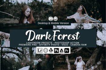 Dark Forest Lightroom Presets 5156999 7