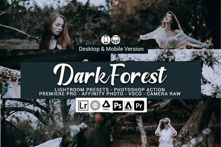 Dark Forest Lightroom Presets 5156999 17