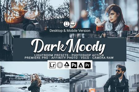 Dark Matte Lightroom Presets 5157045 15