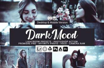 Dark Mood Lightroom Presets 5157026 5
