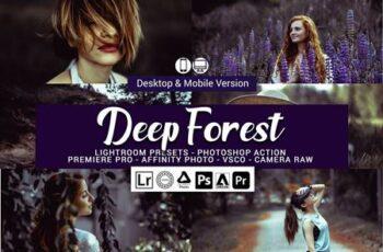 Deep Forest Lightroom Presets 5157069 3