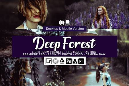 Deep Forest Lightroom Presets 5157069 15