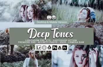 Deep Tones Lightroom Presets 5157090 2