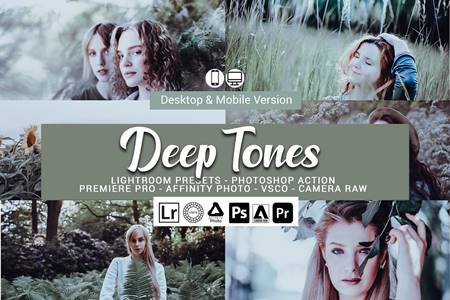 Deep Tones Lightroom Presets 5157090 17