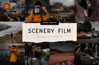 Scenery Film - 3 Lightroom Presets 6075537 2