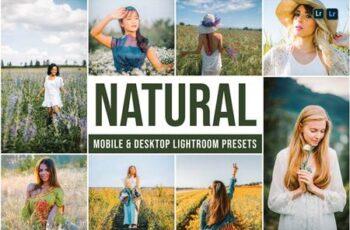 Natural Mobile and Desktop Lightroom Presets 8LPNGYZ 5