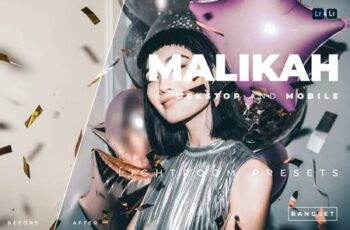 Malikah Desktop and Mobile Lightroom Preset 9LPHU69 3