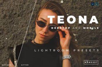 Teona Desktop and Mobile Lightroom Preset QY7CEE8 7