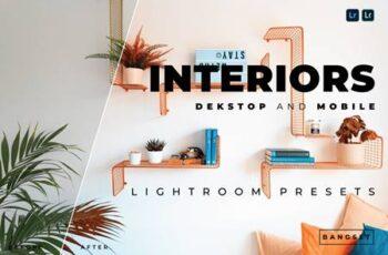 Interiors Desktop and Mobile Lightroom Preset Y6YWCU9 3
