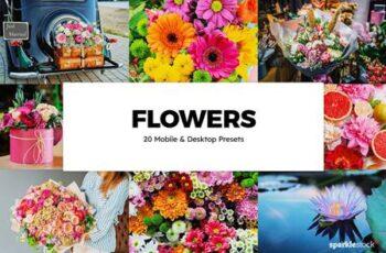 20 Flowers Lightroom Presets & LUTs 6123554 8