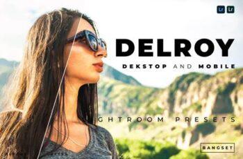 Delroy Desktop and Mobile Lightroom Preset 9C85WCR 3