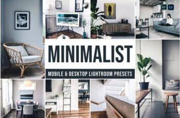 Minimalist Mobile and Desktop Lightroom Presets M827V2R 4