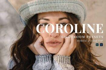 Caroline Mobile and Desktop Lightroom Presets CER2B6Q 3