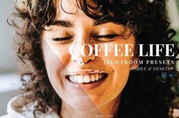 Coffe Life Mobile and Desktop Lightroom Presets M593PF7 7