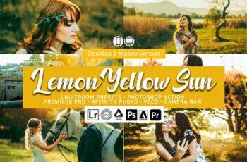 Lemon Yellow Sun Lightroom Presets 5157303 6