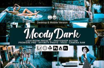 Moody Dark Lightroom Presets 5157328 7