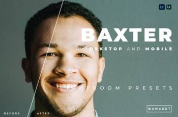 Baxter Desktop and Mobile Lightroom Preset CVSBWQG 2