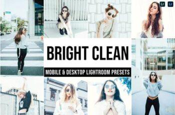 Bright Clean Mobile and Desktop Lightroom Presets 3T5G2NK 4