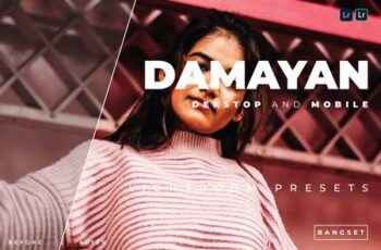 Damayan Desktop and Mobile Lightroom Preset YURU7WC 6