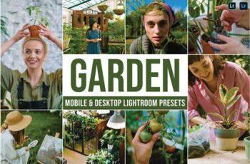 Garden Mobile and Desktop Lightroom Presets 433BQT9 2