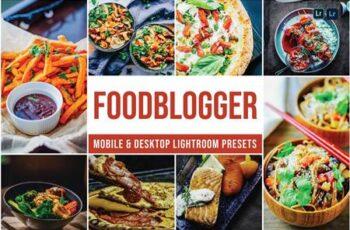 Foodblogger Mobile and Desktop Lightroom Presets R29CD6U 4