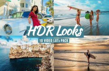 HDR Looks - LUTs Pack 5890776 6